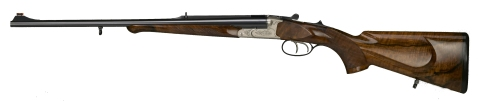 Figure 12 Big Bore Double Rifle. The recoil tolerability limits of the human body made manifest in wood and steel.